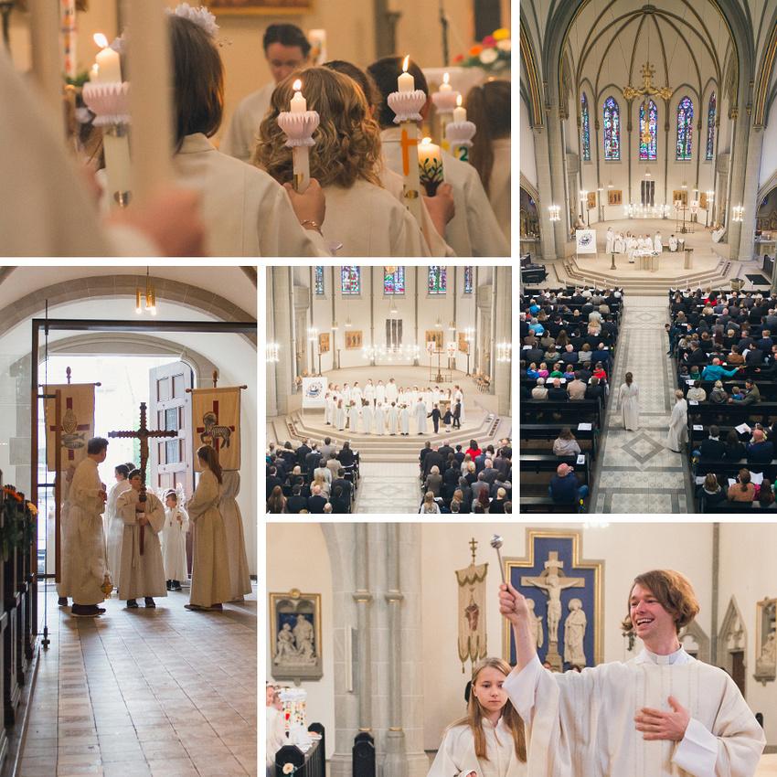 Impressionen Erstkommunion Dreifaltigkeit Gottesdienst
