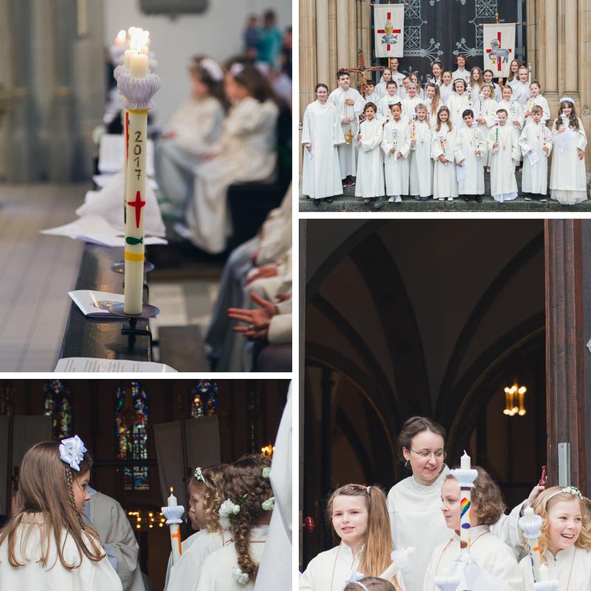 Impressionen Erstkommunion Dreifaltigkeit Einzug