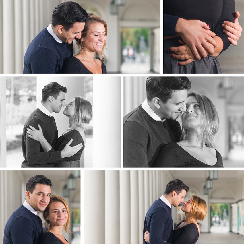 Engagement - Verlobung Collage